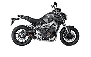 Escapamento Racing Line Akrapovic ponteira em carbono - Yamaha MT-09 / Tracer 2015 a 2018