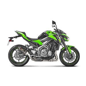 Ponteira Akrapovic carbono Kawasaki Z900 2017 em diante