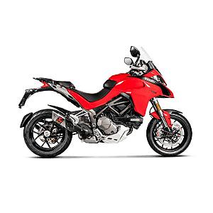 Ponteira Akrapovic titânio Ducati Multistrada 1200 2018 em diante