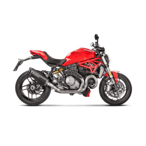 Protetor Akrapovic em carbono Ducati Monster 1200 / 1200S 2017 a 2018
