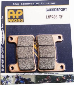 Pastilha de freio SINTERIZADA AP Racing LMP 406 SF