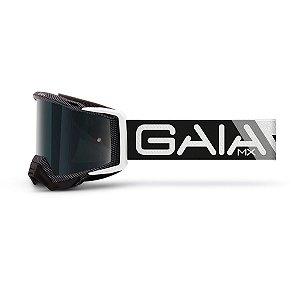 Óculos De Proteção Gaia Carbon Pró Moto Cross