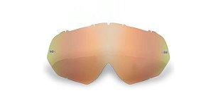 Lente Para Óculos Gaia Mx Anti-embaçante Clear Rainbow Infantil
