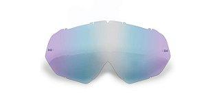 Lente Para Óculos Gaia Mx Anti-embaçante Clear Blue