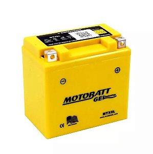 Bateria Gel Motobatt Mtx5l Ytz7s Ytx5l-bs Honda CG 150 Start