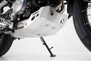 Protetor Do Carter Skid Plate em Alumínio BMW F750GS SW-Motech