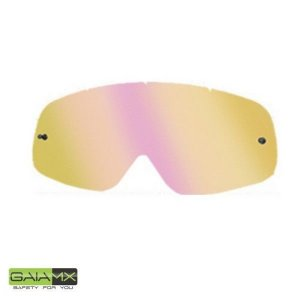 Lente Para Óculos Gaia Mx Anti-embaçante Clear Rainbow