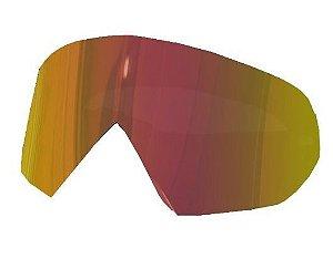 Lente Para Óculos Gaia Mx Anti-embaçante Orange Rainbow