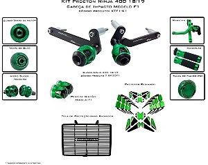 Kit de Slider Procton com cabeça de impacto F1 Kawasaki Ninja 400