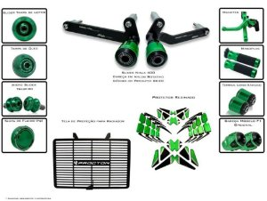 Kit de Slider Procton Racing Kawasaki Ninja 400