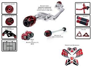 Kit Slider Procton Racing F1 Honda CBR 650F 2016 - 2018