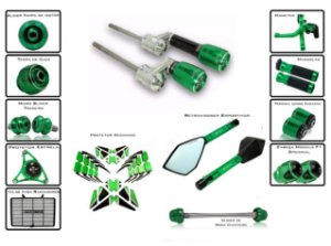 Kit Slider Procton Racing Kawasaki Versys 650