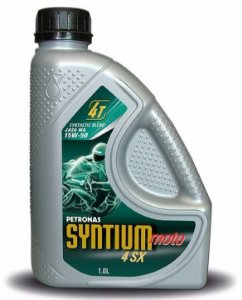 Petronas Syntium Moto 15w50 4sx 4t Óleo Motor Semi-sintético