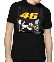 Camiseta Powered Gallina Vecchia 46 Galinha Moto GP