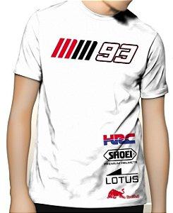 Camiseta Powered Marc Marquez 93 Honda HRC Moto GP