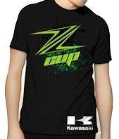Camiseta Powered Suzuki Kawasaki Ninja Cup Moto GP