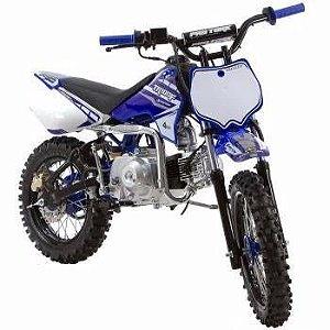 Mini Moto Trilha Cross 50cc Protork Azul TR50F