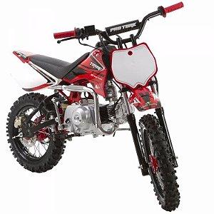 Mini Moto Trilha Cross 50cc Protork Vermelha TR50F