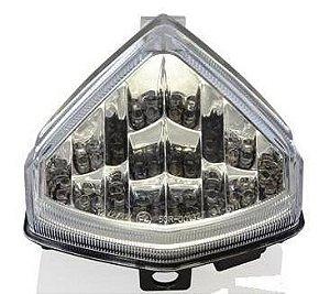 Lanterna com Pista Integrado Honda CBR 600F Cristal