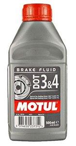 Fluído de Freio Motul DOT 3 / DOT 4 - 500ml