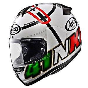 Capacete Arai Helmet Axces 2 Haga Monza White