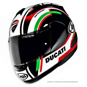 Capacete Arai Helmet Rx-7 Gp Ducati Corse 12