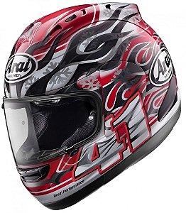 Capacete Arai Helmet Rx-7 Gp Haga Réplica