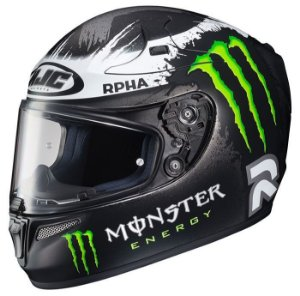 Capacete HJC RPHA-10 Ghost Fuera