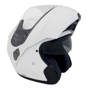 Capacete Hjc Sy-Max III White Robocop