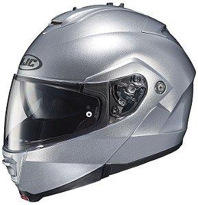 Capacete Hjc Is-Max II Silver Robocop