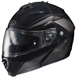 Capacete Hjc Is-Max II Elemental Black Robocop