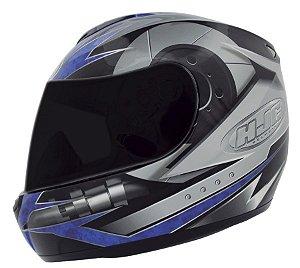 Capacete Hjc CL-ST Gearhead Blue
