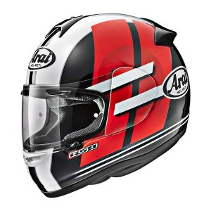 Capacete Arai Helmet Axces 2 Sensai Red TT