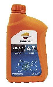 Repsol Moto Sport 10w30 4T Óleo De Motor Semi-sintético