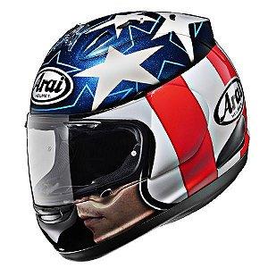 Capacete Arai Helmet Rx-7 Gp Hayden Open Face Azul
