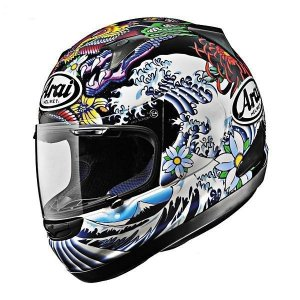 Capacete Arai Helmet Chaser Oriental Preto