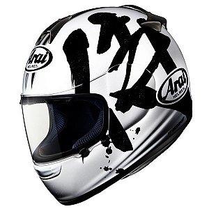 Capacete Arai Helmet Chaser Samurai White Branco