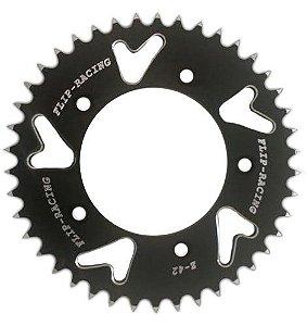 Coroa de Alumínio Flip Racing Kawasaki Ninja 1000