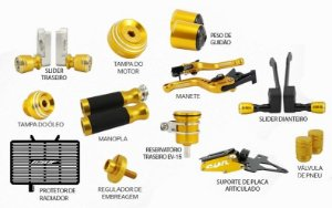 Kit de Slider Evolution Honda CBR 650F