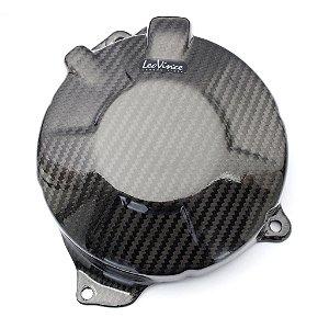 Protetor De Motor em Carbono Leovince Alternador Honda CBR 600F 2011 - 2014