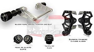 Kit de Slider Procton - Honda CB 250 Twister c/ Slider Traseiro