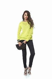 blusa de tricot M