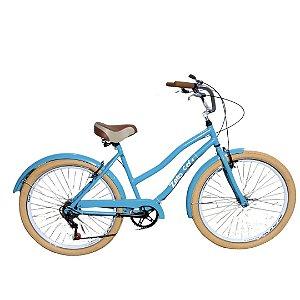 Bicicleta Zero Beach Retro 7 velocidades aro 26 - P5