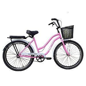 Bicicleta aro 26 Zero Beach P11 cores e acessórios