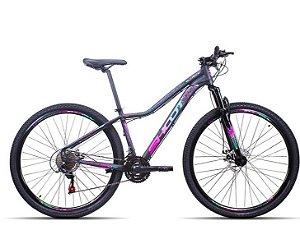 Bicicleta Shoot Ella SX aro 29 21 velocidades Quadro 15