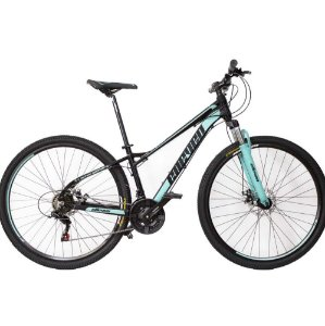 Bicicleta Elleven Belle Preto/Verde LANÇAMENTO