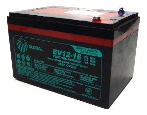Bateria VRLA 12v 16ah GLOBAL