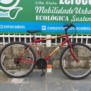 Semi-Nova MTB aro 26 Sundown 18 marchas