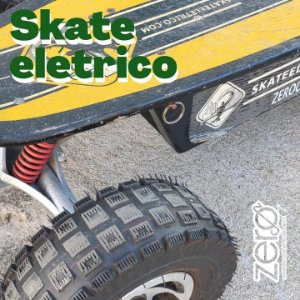 Skate Elétrico Two Dogs 800watts - SEMI-NOVO