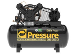 PRESSURE Compr Ar 10PCM V 100L 140PSI ON PRO MONOF